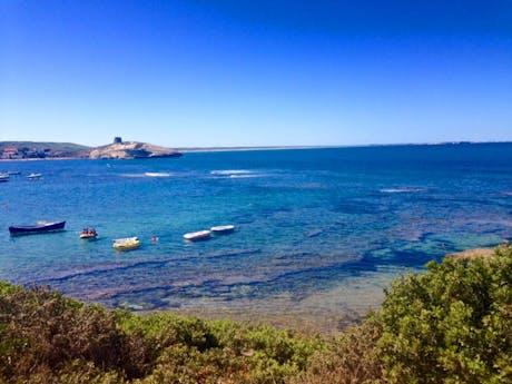 Kust Sardinië