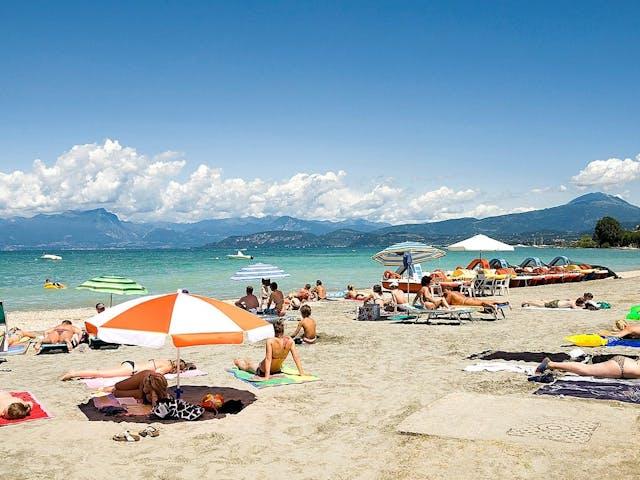 Strand Gardameer Eurocamping Pacengo