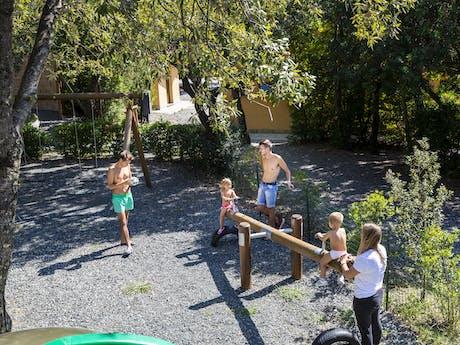 Camping Montescudaio speeltuin