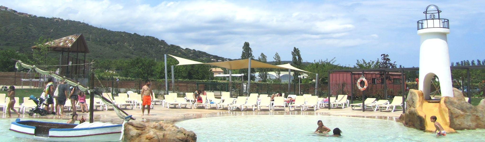 Tropisch zwemparadijs camping Valldaro