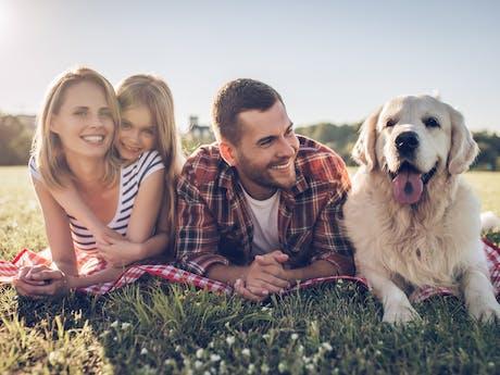 Mensen met huisdier