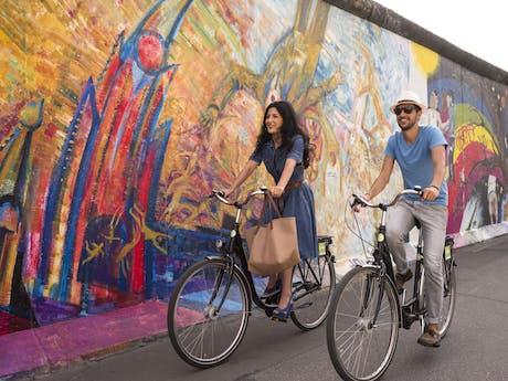 Fietsen Berlijnse Muur
