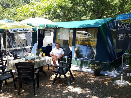 Beheerster Diana Baten-Bosman camping Labeill