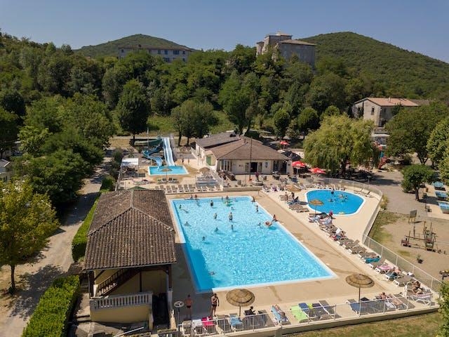 La Bastide en Ardeche zwembad