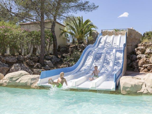 camping Domaine de la Noguiere zwembad