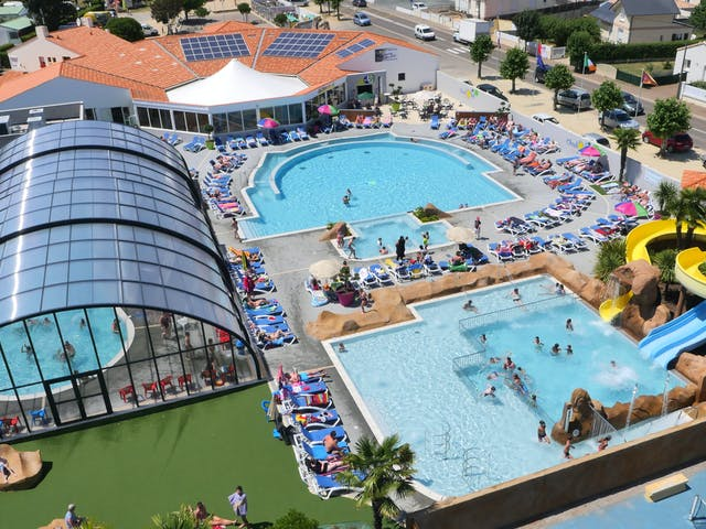 Zwembadparadijs camping L'Oceano d'Or