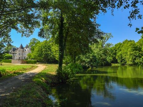Château la Forêt kasteelcamping