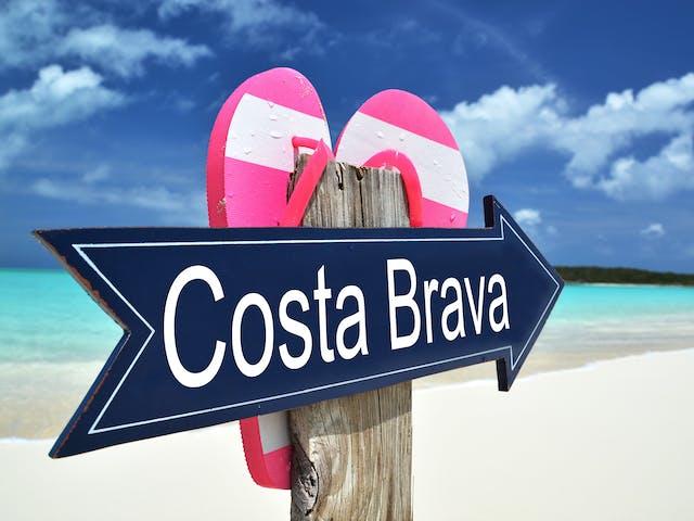 Stock Costa Brava Spanje