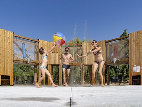 Camping Paris Maisons-Laffitte waterspeeltuin