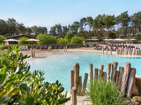 Camping Soustons Village zwembad