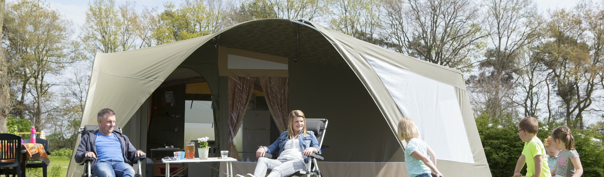 GlamLodge tent model