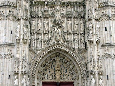 Picardië Abdij van St. Riquier