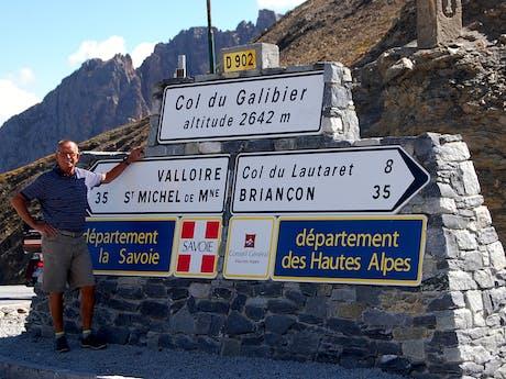 Franse Alpen beheerder Peter Opten