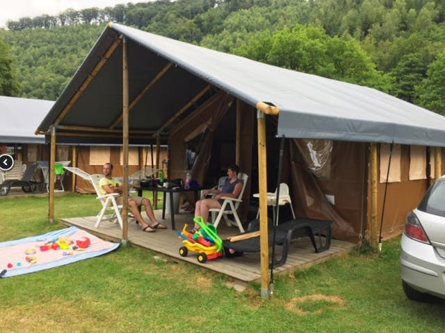 Luxe Lodgetent Grey Plus