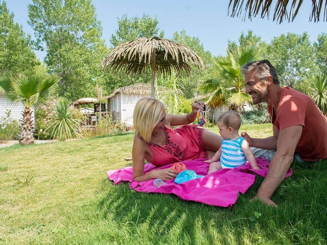 vakantie met gezin met baby