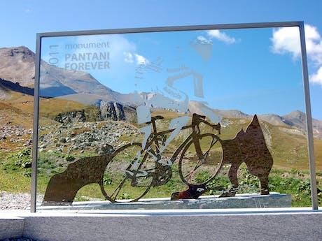 Monument Pantani Alpe d'Huez
