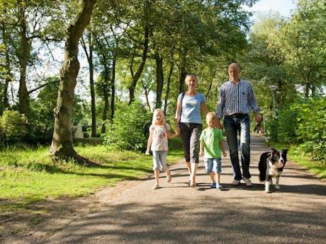 Vakantie Drenthe foto camping Hunzedal