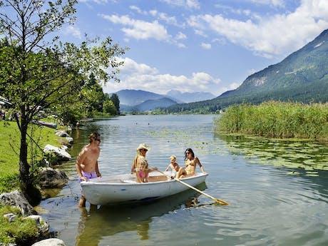 Oostenrijk foto Schluga Seecamping