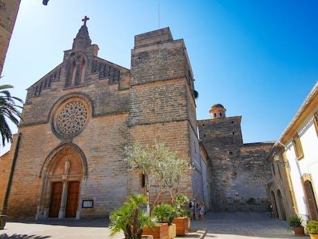 Spanje - Mallorca - Alcudia kerk