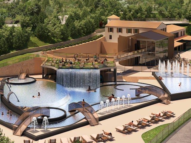 Domaine du Verdon nieuw zwembad