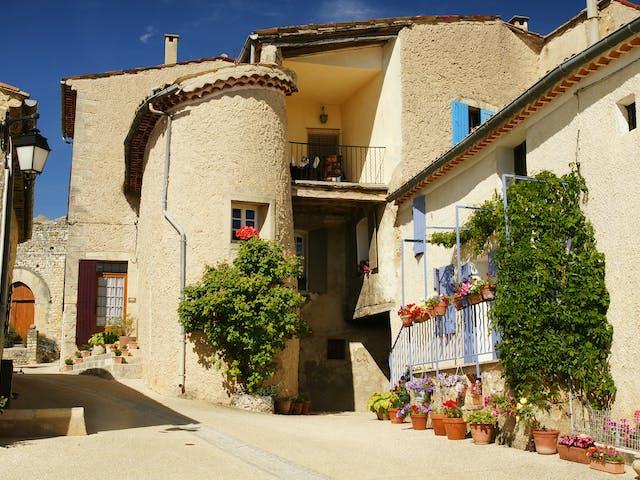 Provence straatje Frankrijk