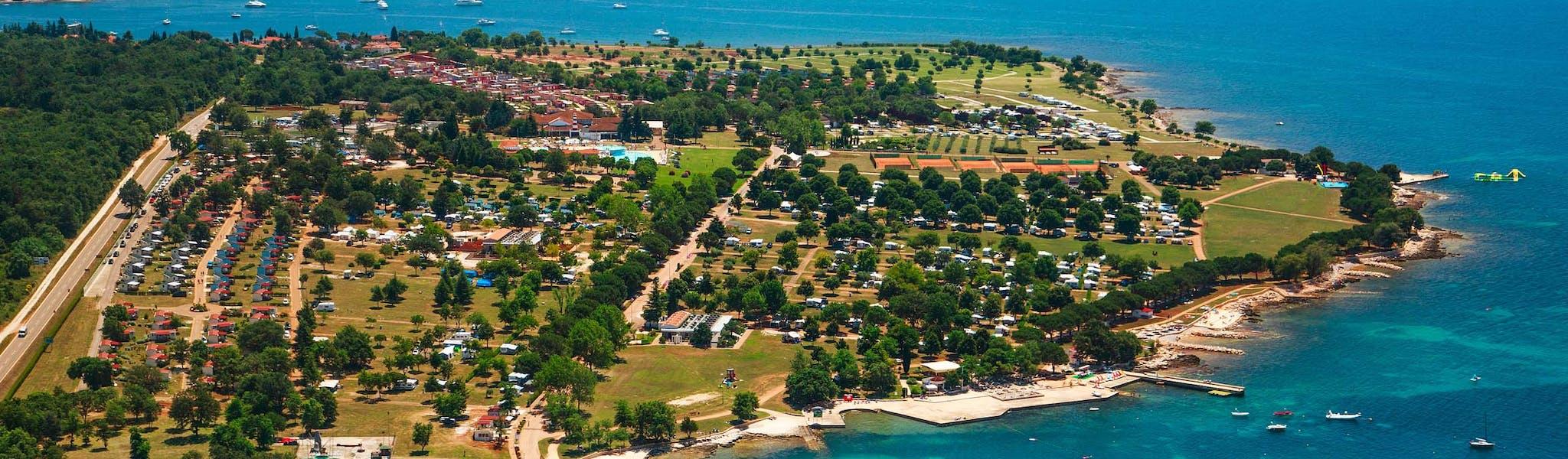 Overzicht Park Umag