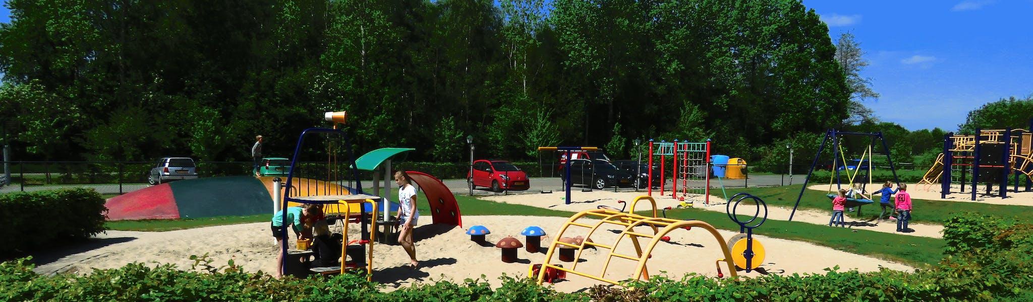 Camping de Molnhofte speeltuin