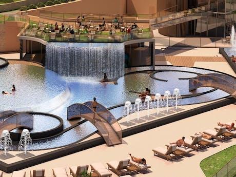 Nieuwe zwembad Camping Domaine du Verdon