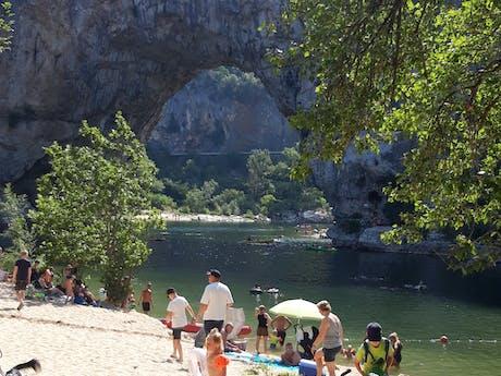 Pont d'Arc foto vakantiegast Les Charmilles