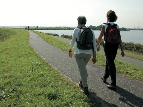 Wandelen IJssel Nedrland