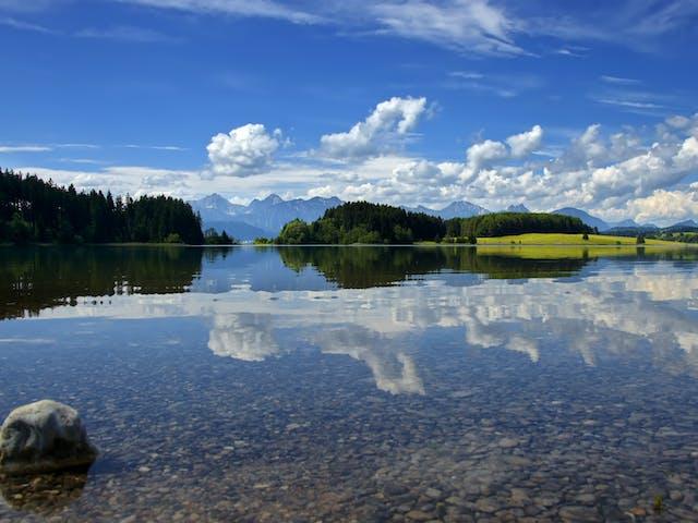 Alpensee Beierse Alpen