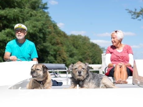 Varen hond Le boat