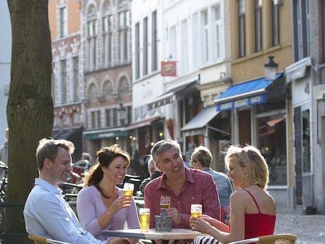terrasje pakken in België