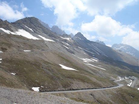 fietsen Franse Alpen