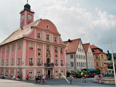 8-daagse fietsvakantie Altmühl- Donau Sportie