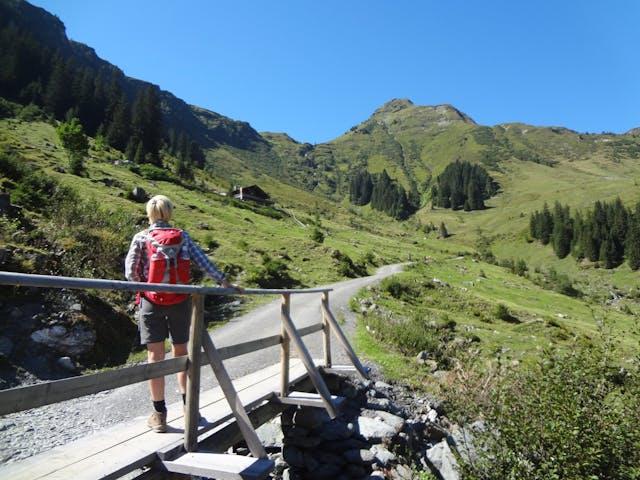 8-daagse wandelvakantie panoramawandelen in P