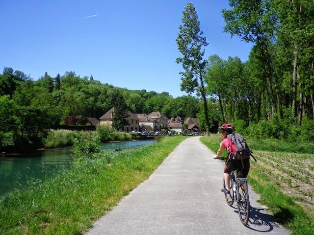ViaRhôna van Genève naar Lyon