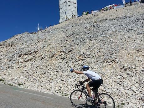Mont Ventoux naar de Alpe d'Huez