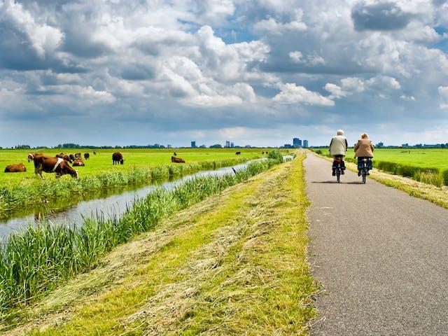 Nederland fietsen
