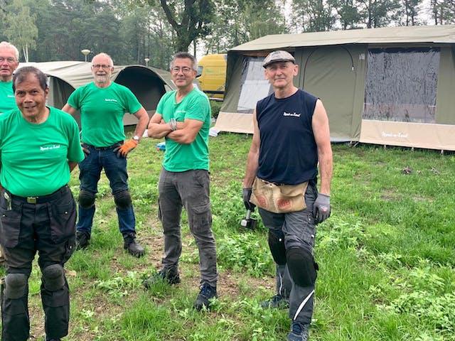 Tentenbouwers De Molenhof RTV Oost