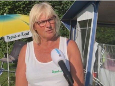 Beheerster Elisabeth Nijhof - Van Gent campin