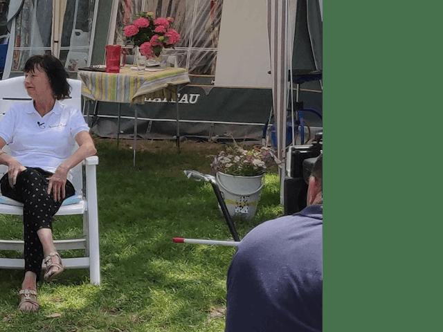 Beheerders Dinie en Rudolf Hekman camping Fuu
