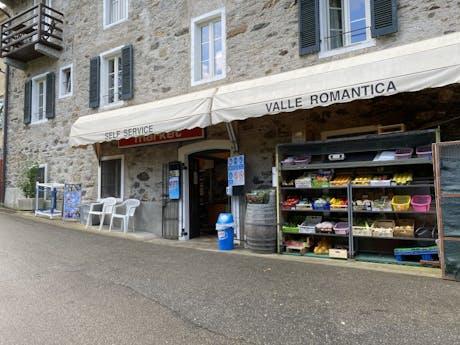 Valle Romantica winkel