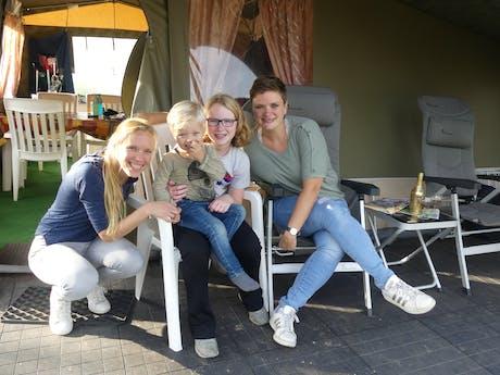 Proefslaapweekend 2020 familie Rouhof en fami