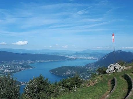 Uitzicht vanaf Col del La Forclaz