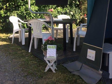 Camping Bella Austria receptietent
