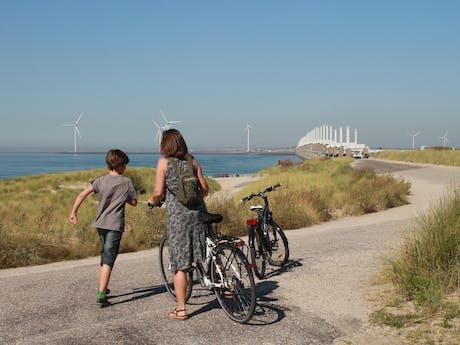 Zeeland fietsen met de kinderen