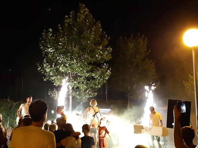 Camping Les Charmilles muziekavond