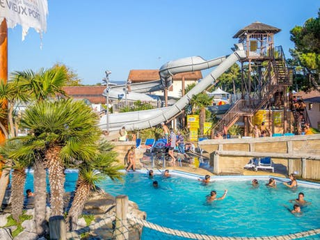 Zwembadparadijs camping Le Vieux Port