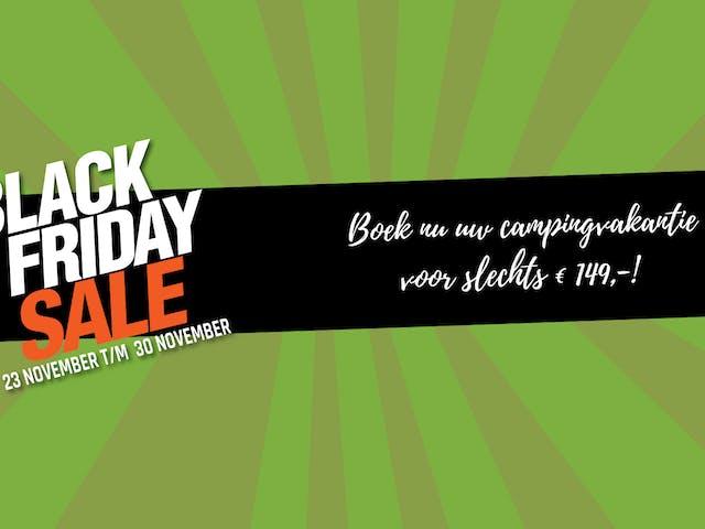 Black Friday 2020 vanaf 149 per week